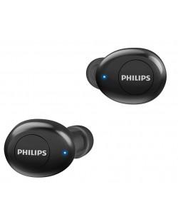 Casti Philips - TAUT102, TWS,  negre