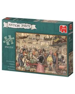Puzzle Jumbo de 1000 piese - Expozitia, Anton Pieck