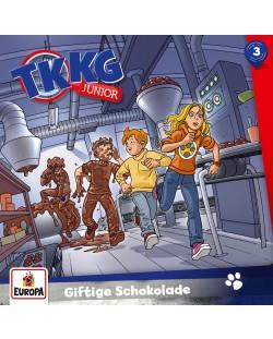 TKKG Junior - 003/Giftige Schokolade - (CD)