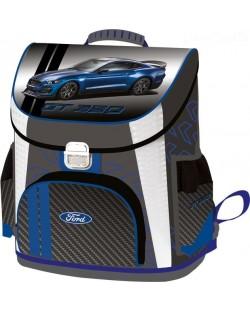 Ghiozdan scolar ergonomic Lizzy Card - Ford Mustang GТ, Premium