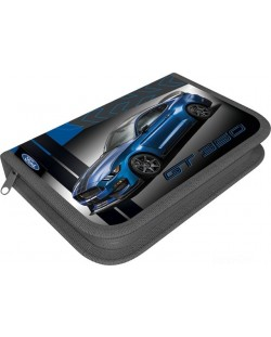 Penar scolar Lizzy Card - Ford Mustang GT, cu un fermoar