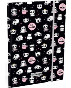 Mapa cu elastic Lizzy Card A4 - Hello Panda, Lollipop