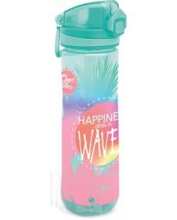Sticla pentru apa Lizzy Card - Wave, 600ml