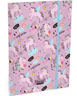 Mapa cu elastic Lizzy Card A4 - Uni Cool Magic, Lollipop