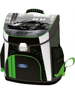 Ghiozdan scolar ergonomic Lizzy Card - Ford GT, Premium