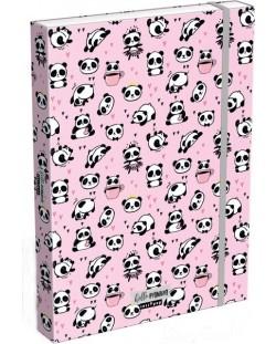 Cutie cu elastic Lizzy Card A4 –Hello Panda, Lollipop