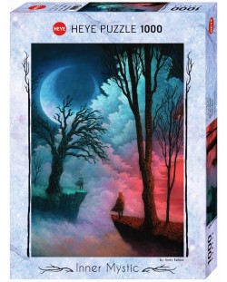 Puzzle Heye de 1000 piese - O lume indepartata, Andi Kehoe