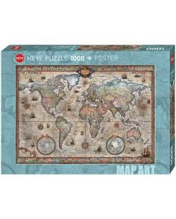 Puzzle Heye de 1000 piese - Lume retro, Raiko Zigic