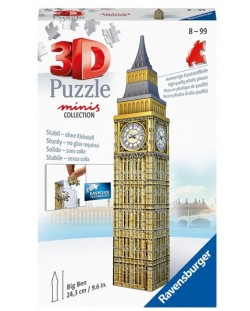 Puzle 3D Ravensburger de 54 piese - Mini Big Ben
