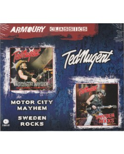 Ted Nugent - Motor City Mayhem + Sweden Rocks - (2 CD)