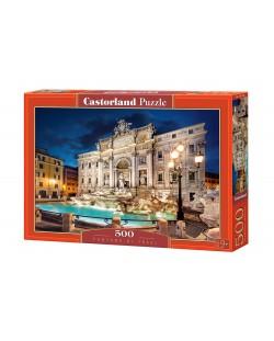 Puzzle Castorland de 500 piese - Fontana di Trevi