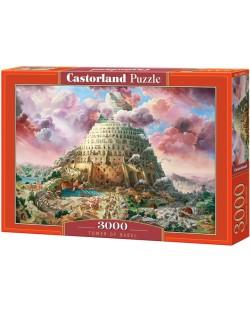 Puzzle Castorland de 3000 piese - Turnul Babel