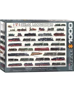 Puzzle Eurographics de 1000 piese – Locomotive cu abur