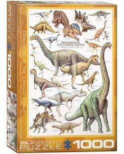 Puzzle Eurographics de 1000 piese – Dinozauri Jurasicul