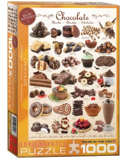 Puzzle Eurographics de 1000 piese – Ciocolata