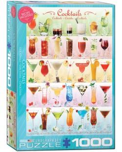 Puzzle Eurographics de 1000 piese – Cocktail-uri