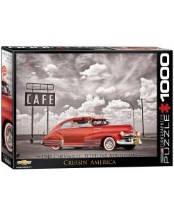 Puzzle Eurographics de 1000 piese – Autoturisme clasice  Chevrolet din anul 1948