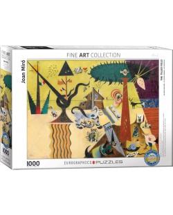 Puzzle Eurographics de 1000 piese – Campuri arate, Joan Miro