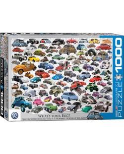 Puzzle Eurographics de 1000 piese – Volkswagen broscuta