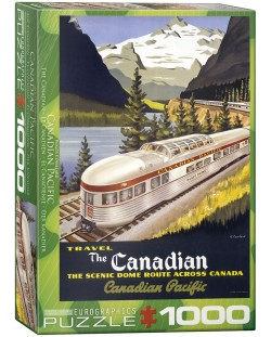 Puzzle Eurographics de 1000 piese – Canadian Pacific, Canadianul