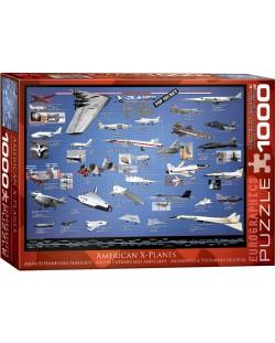 Puzzle Eurographics de 1000 piese – Aviatia americana experimentala