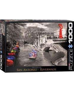 Puzzle Eurographics de 1000 piese – River Wok, San Antonio