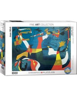 Puzzle Eurographics de 1000 piese – Iubire amara, Joan Miro