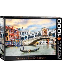 Puzzle Eurographics de 1000 piese - Podul Rialto, Venetia