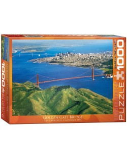 Puzzle Eurographics de 1000 piese – Golden Gate Bridge in California