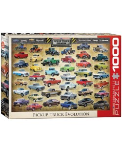 Puzzle Eurographics de 1000 piese – Dezvoltarea camioanelor