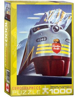 Puzzle Eurographics de 1000 piese – Canadian Pacific, Locomotiva diesel