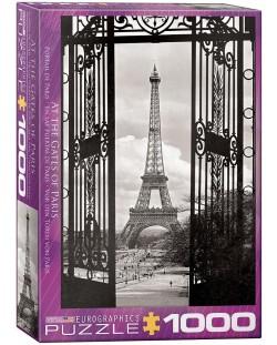 Puzzle Eurographics de 1000 piese – In fata portilor din Paris