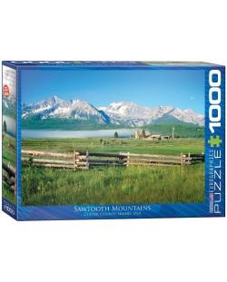 Puzzle Eurographics de 1000 piese – Muntii Sawtooth in Idaho