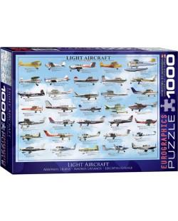 Puzzle Eurographics de 1000 piese – Aeronave usoare