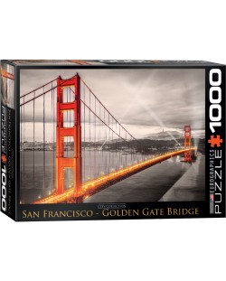 Puzzle Eurographics de 1000 piese – Podul Golden Gate, San Francisco