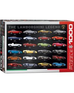 Puzzle Eurographics de 1000 piese – Legenda Lamborghini