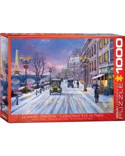 Puzzle Eurographics de 1000 piese – Seara de Craciun in Paris, Dominic Davison