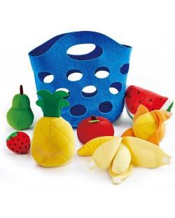Set de joaca  Hape - Cos cu fructe