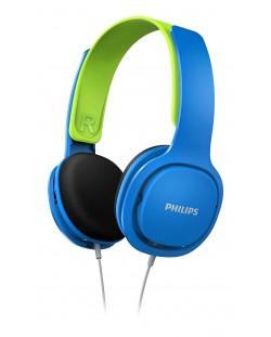 Casti pentru copii Philips - SHK2000BL, albastre