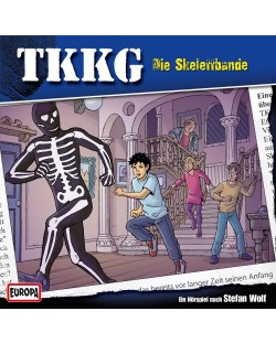 TKKG - 173/Die Skelettbande - (CD)
