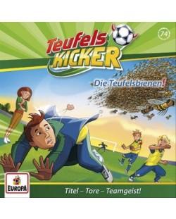 Teufelskicker - 074/Die Teufels-Bienen! - (CD)