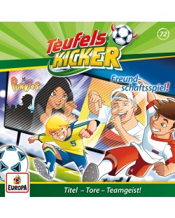 Teufelskicker - 072/Freundschaftsspiel! - (CD)