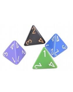 Zar Chessex D4 - netransparent, culoare aleatorie