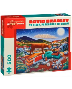 Puzzle Pomegranate de 500 piese - Dormi si poate visezi, David Bradley