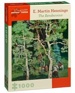 Puzzle Pomegranate de 1000 piese - Intalnirea, Martin Hennings