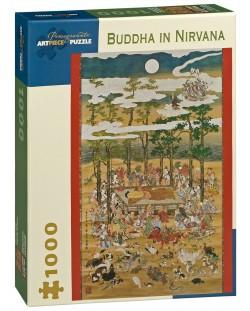 Puzzle Pomegranate de 1000 piese – Buda in Nirvana, Hanabusa Itcho