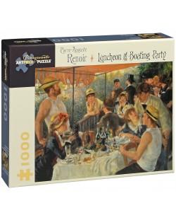 Puzzle Pomegranate de 1000 piese - Pranz la petrecerea de pe nava, Pierre Renoir