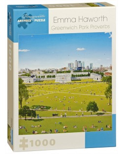 Puzzle Pomegranate de 1000 piese - Parc in Greenwich, Emma Haworth