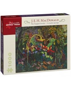 Puzzle Pomegranate de 1000 piese - Gradina salbatica, James Macdonald