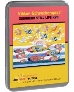 Puzzle Pomegranate de 100 piese - Viata rece XVIII, Viktor Schreckengost